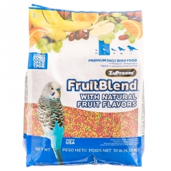 ZuPreem FruitBlend Flavor Bird Food for Small Birds Image