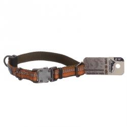 K9 Explorer Reflective Adjustable Dog Collar - Campfire Orange Image