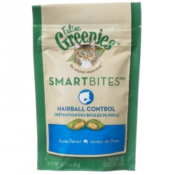 Greenies SmartBites Hairball Control Cat Treats - Tuna Flavor Image