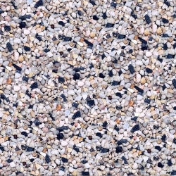 Pure Water Pebbles Aquarium Gravel - Rainbow Gems Image