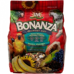 LM Animal Farms Bonanza Gourmet Diet - Small Parrot Food Image