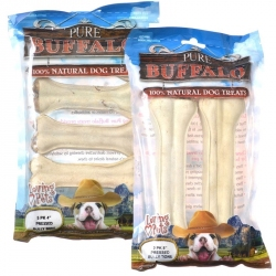 Loving Pets Pure Buffalo Pressed Bully Bone Dog Treats Image