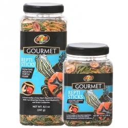 Zoo Med Gourmet Repti Sticks Floating Aquatic Turtle Food Image