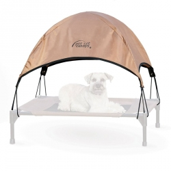K&H Pet Cot Canopy - Tan Image