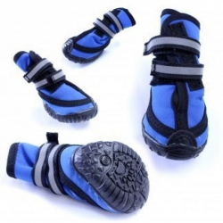 Lookin' Good Performance Boots for Dogs - Blue Image