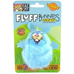 Fat Cat Fluff Bunnies Cat Toys with Catnip Image