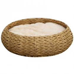 Pet Pals Woven Paper Rope Pet Bed - Circle Image