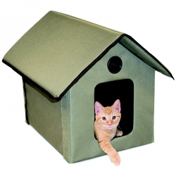 K&H Outdoor Heated Kitty House Image