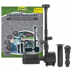Tetra Pond Filtration Fountain Kit - Ponds up to 100 Gallons Image