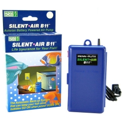 Penn Plax Silent Air B11 Auto On Battery Powered Air Pump Image