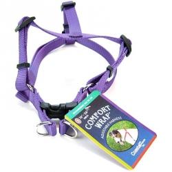 Coastal Pet Comfort Wrap Adjustable Harness - Purple Image