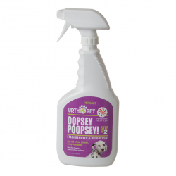 UrthPet Oopsey Poopsey Stain Remover & Deodorizer - Step 2 Image