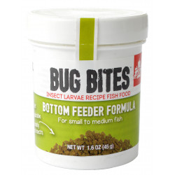 Fluval Bug Bites Bottom Feeder Formula Granules for Small-Medium Fish Image
