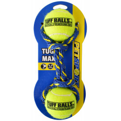 Petsport Tug Max Tuff Balls Dog Toy Image