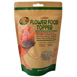 Zoo Med Lizard Flower Food Topper Image