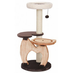 Pet Pals Rondure Natural Wood Cat Tree Image