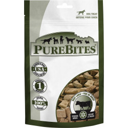 PureBites Beef Liver Freeze Dried Dog Treats Image