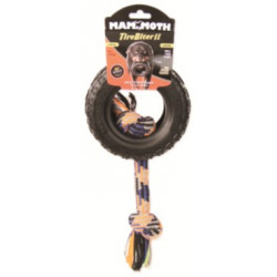 Mammoth TireBiter II Dog Toy with Rope Image