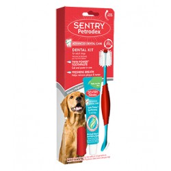 Sentry Petrodex Dental Kit for Adult Dogs Image