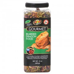 Zoo Med Gourmet Bearded Dragon Food Image