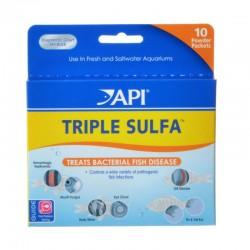 API Pro Series Triple Sulfa Anti-Bacterial Fish Medication Powder Image