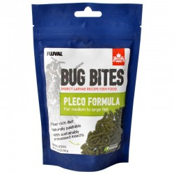 Fluval Bug Bites Pleco Formula Sticks for Medium-Large Fish Image