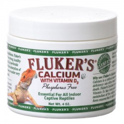 Flukers Calcium with D3 Reptile Supplement Image