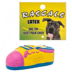 Rascals Latex Small Tennis Shoe Dog Toy Image