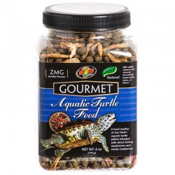 Zoo Med Gourmet Aquatic Turtle Food Image