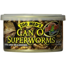 Zoo Med Can O Superworms Extra Large Mealworms Image