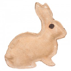 Spot Dura Fused Leather Dog Toy - Rabbit Image
