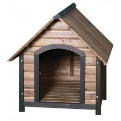 Precision Pet Outback Country Lodge Dog House - Medium Image