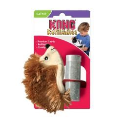 Kong Refillable Catnip Toy - Hedgehog Image