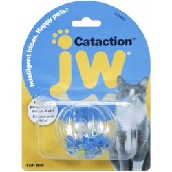 JW Pet Cataction Fish Ball Interactive Cat Toy  Image