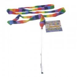 Cat Dancer Rainbow Charmer Wand Cat Toy Image