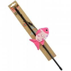 Spot Shimmer Glimmer Teaser Wand Cat Toy - Assorted Styles Image
