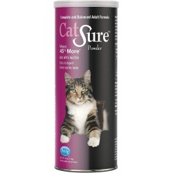 PetAg Catsure Meal Replacement Powder For Cats Vanilla Flavor Image