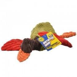 Petsport Tuff Squeak Unstuffed Plush Goose Dog Toy Image