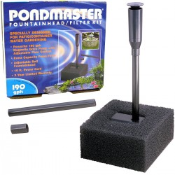 Pondmaster Fountainhead and Filter Kit Image