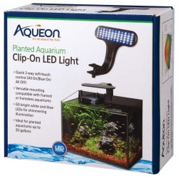 Aqueon Planted Aquarium Clip-On LED Light Image