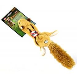 Skinneeez Plush Flying Squirrel Dog Toy Image