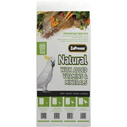 Zupreem Natural Bird Food For Parrots & Conures Image