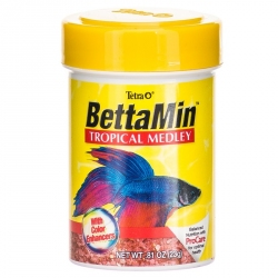 BettaMin Tropical Medley Flakes Image