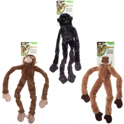 Skinneeez Plush Jungle Monkey Dog Toy - Assorted Image
