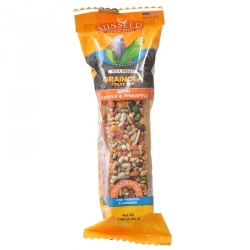 Sunseed Vita Prima Grainola Treat Bar with Papaya & Pineapple Image