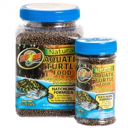 Zoo Med Natural Aquatic Turtle Food - Hatchling Formula Image