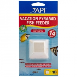 API 14 Day Vacation Pyramid Fish Feeder Image