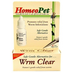 HomeoPet Wrm Clear for Dogs & Cats Image