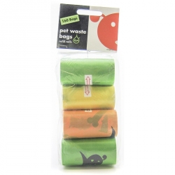 Lola Bean Pet Waste Bag Refill Rolls- Unscented Image