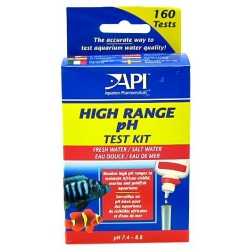 API High Range pH Test Kit for Fresh & Saltwater Aquariums Image
